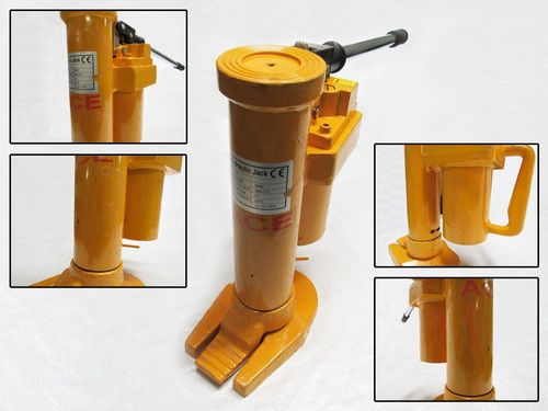 10 Ton Hydraulic Jack - 360 Degree Swivel 10000KG Lift Machinery Furniture Toe